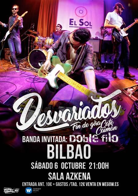 Desvariados en la sala Azkena de Bilbao-poster